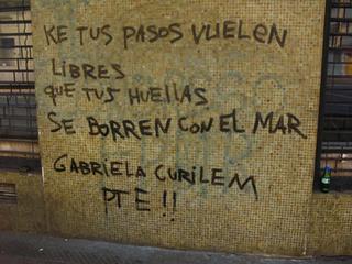 Gabriela Curilem Presente!